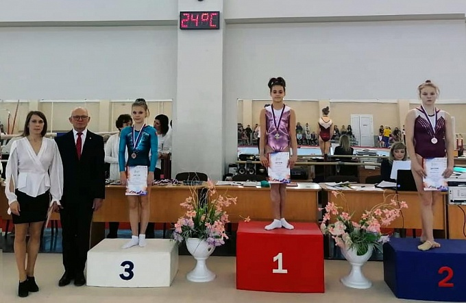 Спортсменка из Армавира завоевала бронзу на первенстве ЮФО и СКФО по спортивной гимнастике